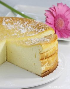 Przepis na sernik wiedeński | AniaGotuje.pl Gourmet Recipes, Baking Recipes, Polish Recipes, Polish Food, Easy Cheesecake Recipes, Homemade Cakes, Sweet Desserts, Cupcake Cakes, Food And Drink