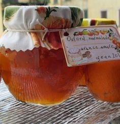 Tentazioni di gusto: Marmellata d'arance amare Oxford marmalade