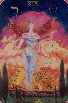 XIX.The Sun: Spiral Tarot