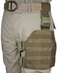 MOLLE / PALS Compatible Large Format Modular Tactical Thigh Rig