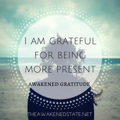 Awakened Gratitude: It is so often that we can lose ourselves within our minds, emotions and especially our future thinking. Are you being present with yourself lately? Do you choose to be conscious of your actions? what are ways that you hold yourself back and how can you start becoming more present in your daily actions? When we feel stuck in an unconscious resistance with ourselves, it's because we are losing ourselves in time. Find yourself again. Reconnect to you.