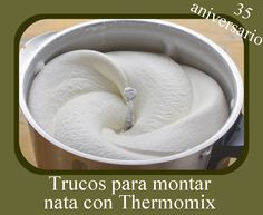 Thermomix Desserts, Churros, Scones, Sweet Recipes, Mousse, Creme, Icing, Food And Drink, Easy Meals