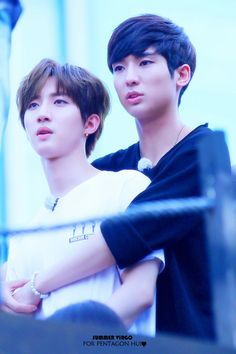 FY! PENTAGON ~ Yuto and Hui's Titanic moment <3