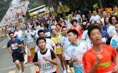 Now That's Funny- Hong Kong Marathon may ban mobile phones after 'selfies' caused accidents. From www.scmp.com