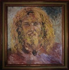 """It's good news for Peter Marshall, the original host of """"Hollywood Squares."""" The police has just found a painting of a Jesus-esque surfer bro stolen from him in 1982 when some burglars broke into his home in addition to other items. The painting was found with a woman named Shannon Turk, but wait she's not the burglar, she just bought it from flea market in Long Beach and was not aware if it was stolen, and she later turned the piece of art to police."""