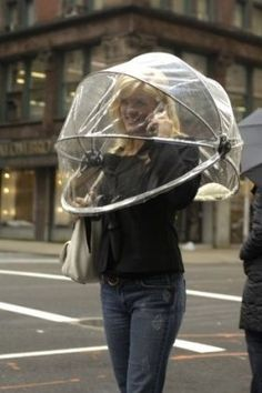 cool stuff. Hands free umbrella PERFECT! Now if they can make it for two ... it would be AMAZING!