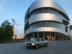 MY 280 SLC Mercedes Benz Coupe 1978 in Green Metallic German Car Sportscar Museum Mercedes Benz Stuttgart