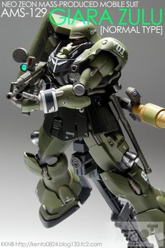 GUNDAM GUY: HGUC 1/144 AMS-129 Geara Zulu - Customized Build