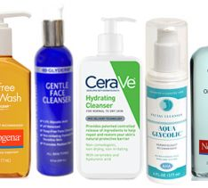 Best Face Cleansers for Your Skin Type