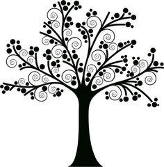 Large Family Tree decal