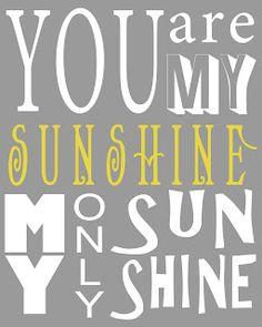 SezzySue Crafts: You are my sunshine