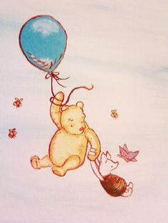 Classic Pooh and Piglet by BeingLoveChild on deviantART