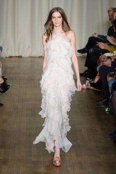 Marchesa ready to wear spring/summer 2015. #lfw #wear #white
