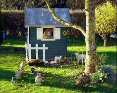 Easter Bunny Mansion