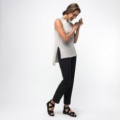 Shibui SS16 Nova Pullover PDF Download – Knit Purl