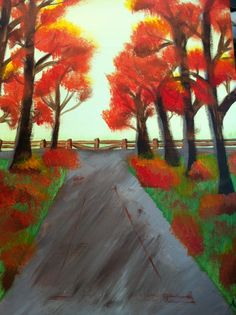 """My """"Paint and Sip"""" creation :) those are fun but without step by step I would be lost."""