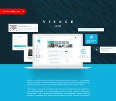Visage Free UI Kit