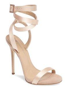 Giuseppe Zanotti giuseppe for jennifer lopez leslie sandal #giuseppezanottiheelswhite