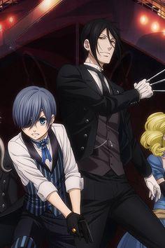 Ciel Phantomhive and Sebastian Michaelis from Black Butler (Kuroshitsuji), Anime, Manga Movie Review by SkywingKnights Blu-Ray