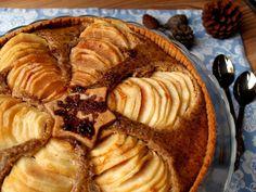 Pear and almond tart: Sugarfree recipe