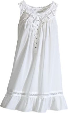 Eileen West Moonlight Sonata Short Cotton Nightgown