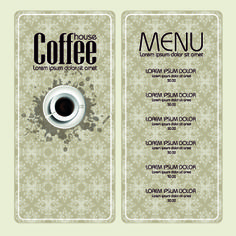 vector coffee tea and chocolate banner like menus free web