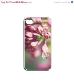 ON SALE iPhone Case Summer Pink Lilac's by HConwayPhotography, $29.90