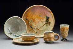 Functional Pottery  Cynthia Bringle