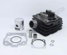 [Visit to Buy] 39.5mm  Cylinder kit For KTM 50 50CC SX Mini Adventure Senior Cylinder Piston Rings Gaskets Kit #Advertisement
