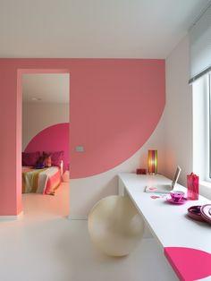 Pastellrosa Sorgt Für Romantik Ideen Für Wände Streichen Im Heim Zimmer  Streichen Ideen, Kinderzimmer