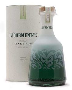 """Le Tourment Vert absinthe is translated as the """"green torment."""" Description from proof66.com. I searched for this on bing.com/images"""