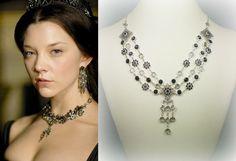 Anne Boleyn Ghost Queen Necklace- n483 by tudorshoppe on Etsy (null)