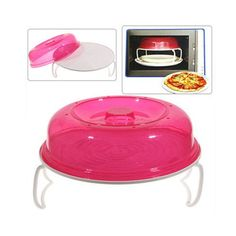 Microwave Oven Stratified Heater Double Layer Heating Plates - Rosy