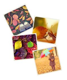 12 Fun Fall Activities - Take photos on a nature walk and make coasters with the images!