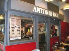 Antonio Bar. Small eatery with 5 tables. Fresh seasonal products. Great variety of fish and meat. #SanSebastian #Restaurant #Euskadi #tapas #pintxos