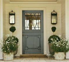 Pretty front door.