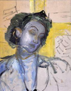 Fahrelnissa Zeid / Self-portrait (unfinished), date unknown