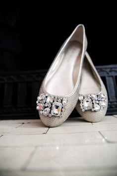 diy shoe clips using old clip on earrings Svadobné Topánky 91d32953c55