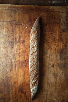 Hand cut and baked baguettes are so gorgeous. Dreamy photo via @Saveur