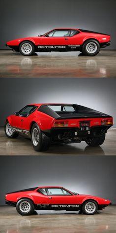 1972 De Tomaso Pantera 5,7 ltr. GTS