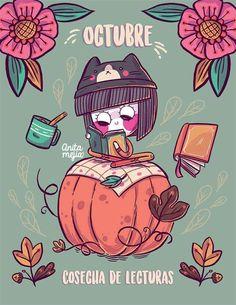 Kawaii Drawings, Colorful Drawings, Cute Drawings, Dream Art, Halloween Wallpaper, Cute Illustration, Pattern Wallpaper, Cute Wallpapers, Illustrations Posters
