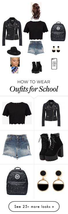 """""""K B M J"""" by queen-kaitlyn on Polyvore featuring Ted Baker, River Island, Lack of Color, Warehouse and Casetify"""