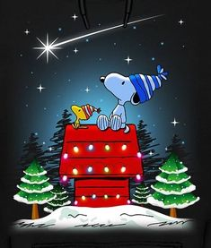 merry christmas snoopy love snoopy and woodstock charlie brown peanuts - Snoopy Christmas Wallpaper