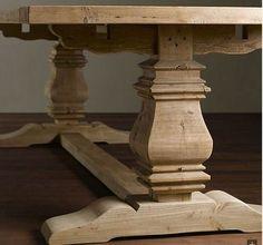 mesa de comedor en madera reciclada de mas de 100 años ....