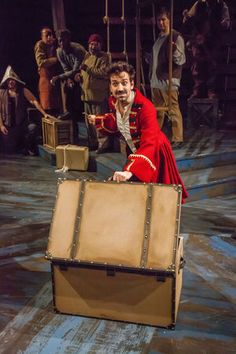 Delivering with Half Steps: Peter and the Starcatcher at The ...