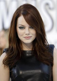 22 most beautiful and adorable celebrity hairstyles - Medium Hair Styles Medium Long Hair, Medium Hair Styles, Long Hair Styles, Hair Color Auburn, Auburn Hair, Hair Colour, 2015 Hairstyles, Trendy Hairstyles, Hairstyles Pictures