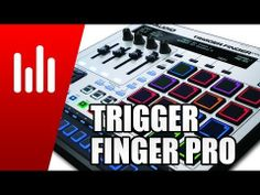 M-Audio Trigger Finger Pro Testbericht: Pad Controller + Sequencer - http://www.delamar.de/test/m-audio-trigger-finger-pro-testbericht/?utm_source=Pinterest&utm_medium=post-id%2B24569&utm_campaign=autopost