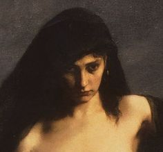 Sappho (Close-Up) *Charles-August Mengin @Manchester Art Gallery