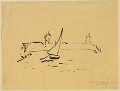 Henri Matisse. Harbor at Collioure (Port de Collioure). (1907)