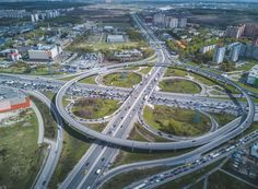 Moscow freeway